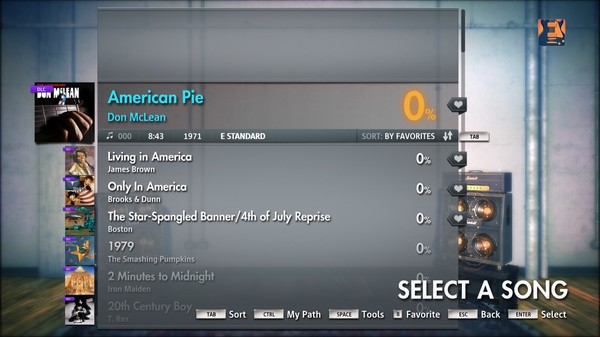 "Скриншот №4 к Rocksmith® 2014 – Don McLean - ""American Pie"""