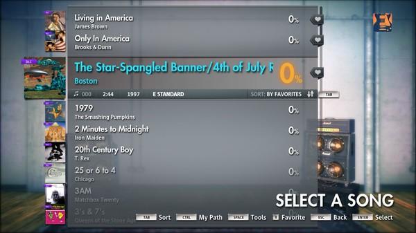 "Скриншот №3 к Rocksmith® 2014 – Boston - ""The Star Spangled Banner  4th of July Reprise"""