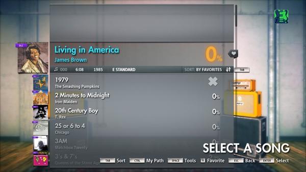 "Скриншот №5 к Rocksmith® 2014 – James Brown - ""Living In America"""