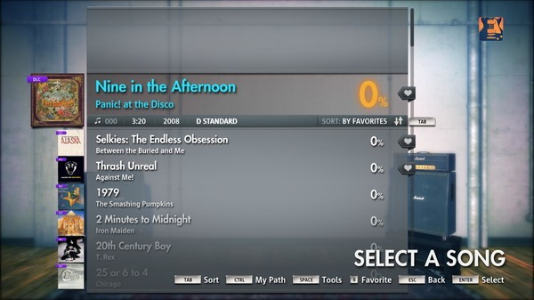 "Скриншот №1 к Rocksmith® 2014 – Panic! At The Disco - ""Nine in the Afternoon"""