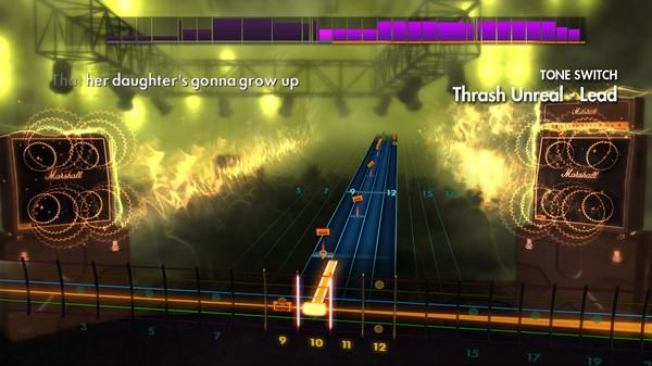 "Скриншот №2 к Rocksmith® 2014 – Against Me! - ""Thrash Unreal"""