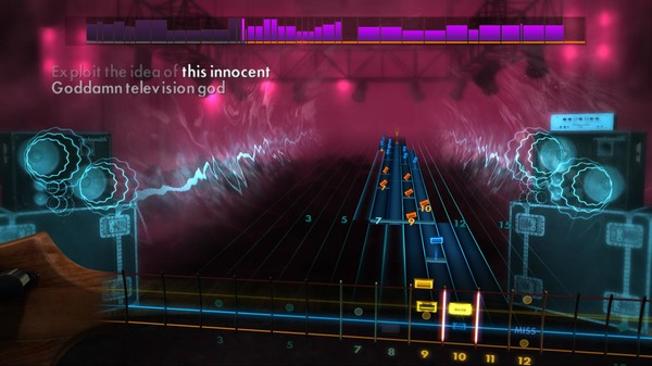 "Скриншот №5 к Rocksmith® 2014 – Between The Buried And Me  - ""Selkies the Endless Obsession"""