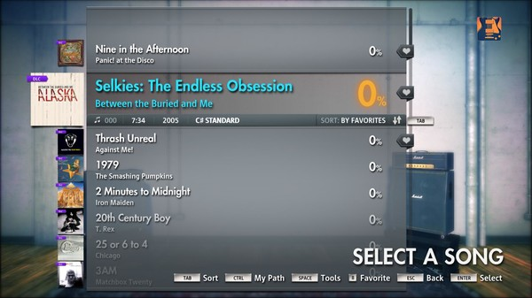 "Скриншот №1 к Rocksmith® 2014 – Between The Buried And Me  - ""Selkies the Endless Obsession"""