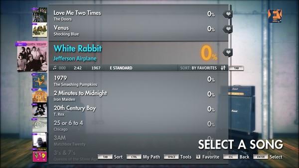 "Скриншот №5 к Rocksmith® 2014 – Jefferson Airplane  - ""White Rabbit"""