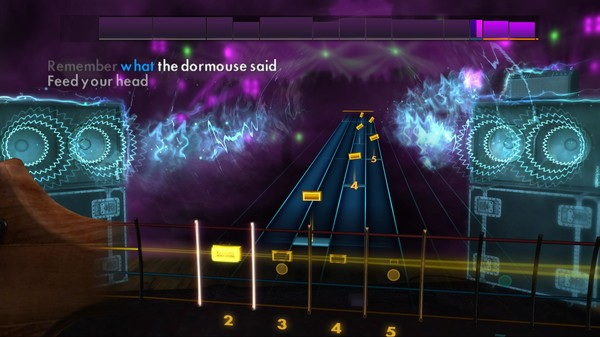 "Скриншот №4 к Rocksmith® 2014 – Jefferson Airplane  - ""White Rabbit"""