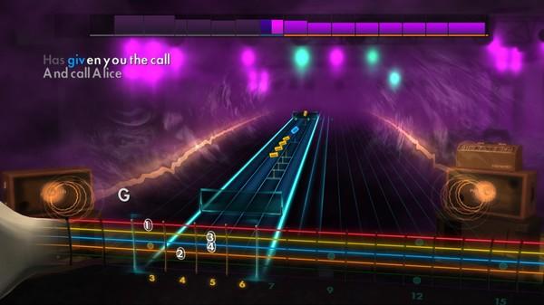 "Скриншот №1 к Rocksmith® 2014 – Jefferson Airplane  - ""White Rabbit"""