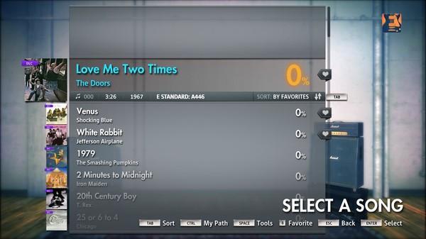 "Скриншот №3 к Rocksmith® 2014 – The Doors  - ""Love Me Two Times"""