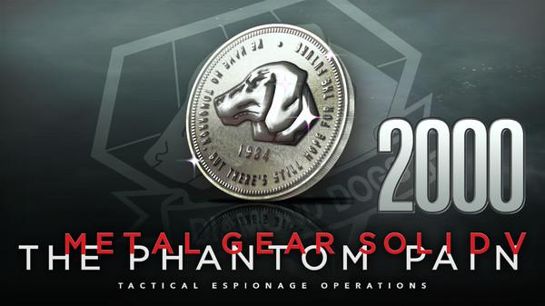 Скриншот №1 к METAL GEAR SOLID V THE PHANTOM PAIN - MB Coin 2000