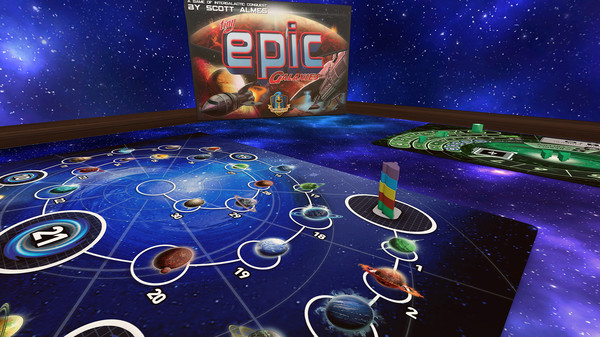 Скриншот №1 к Tabletop Simulator - Tiny Epic Galaxies