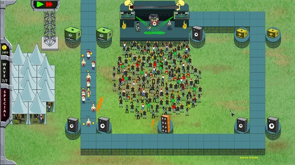 Скриншот №5 к Rock N Roll Defense