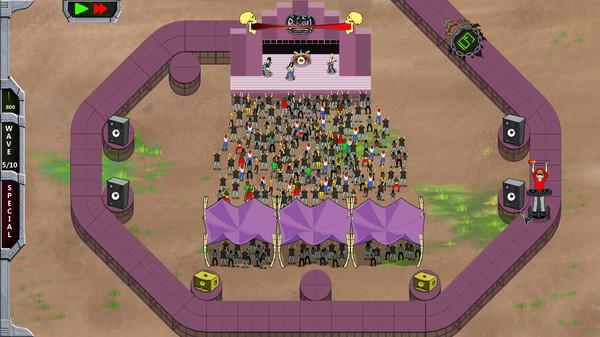 Скриншот №6 к Rock N Roll Defense