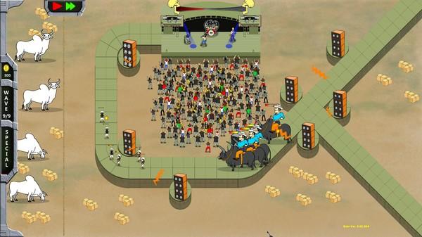 Скриншот №4 к Rock N Roll Defense