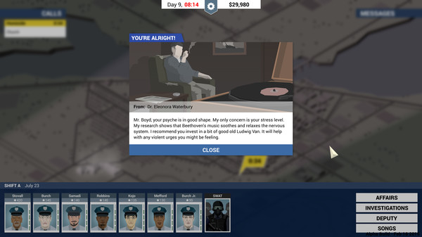 This is the Police v1.0-v1.0.49 Plus 11 Trainer-FLiNG