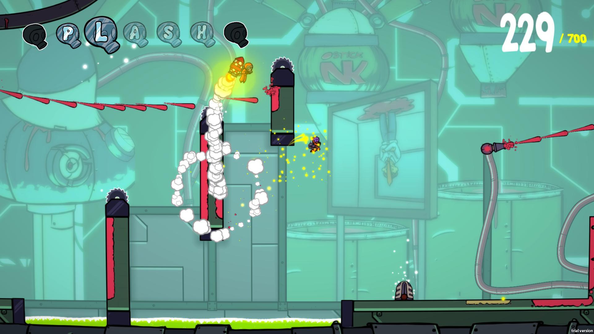 Splasher Screenshot 1