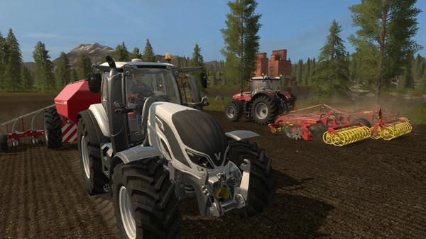 Скриншот №1 к Farming Simulator 17