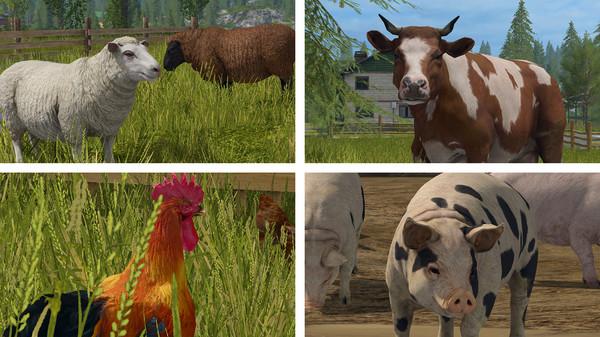 Скриншот №5 к Farming Simulator 17