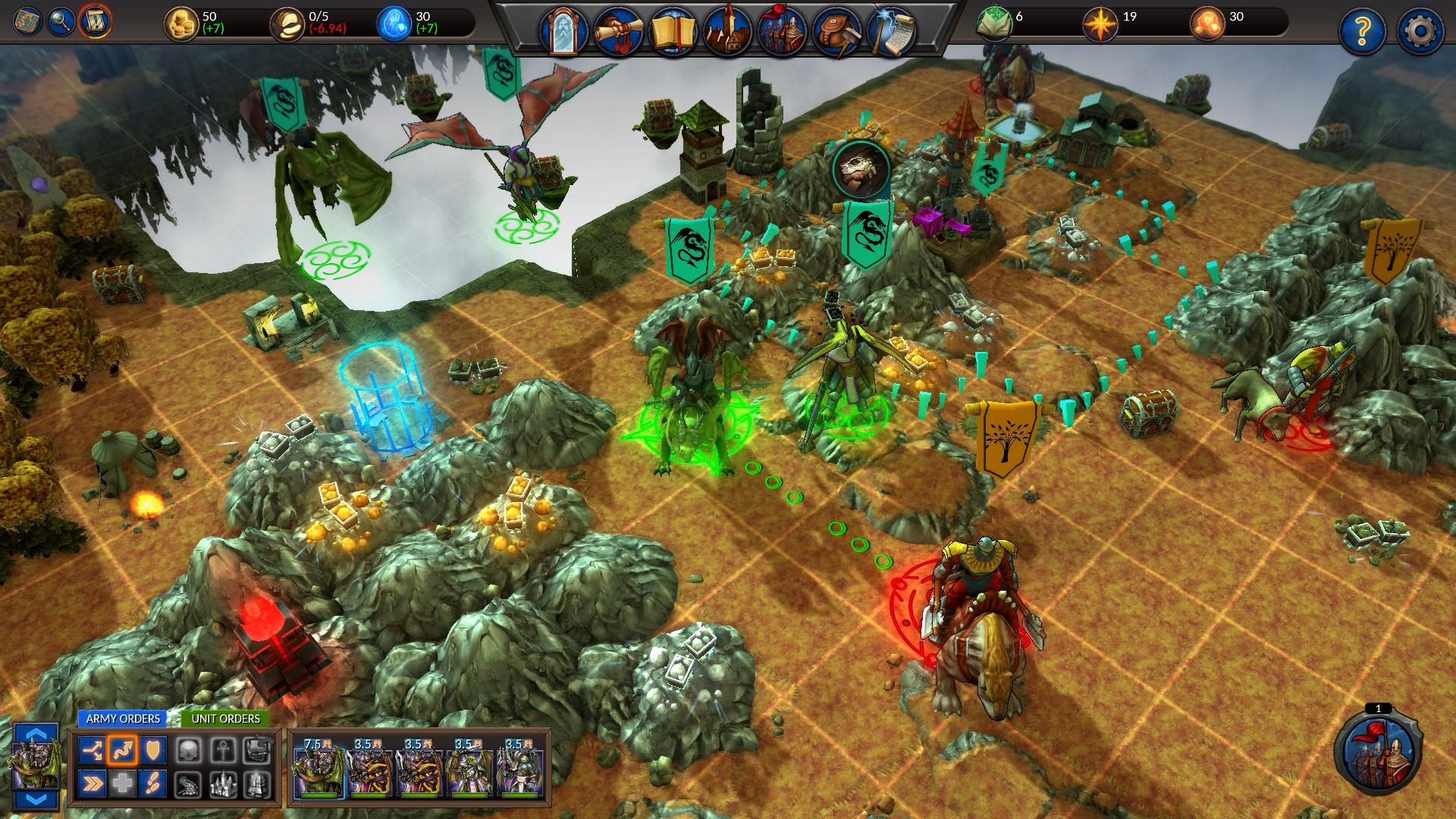 Planar Conquest Screenshot 1