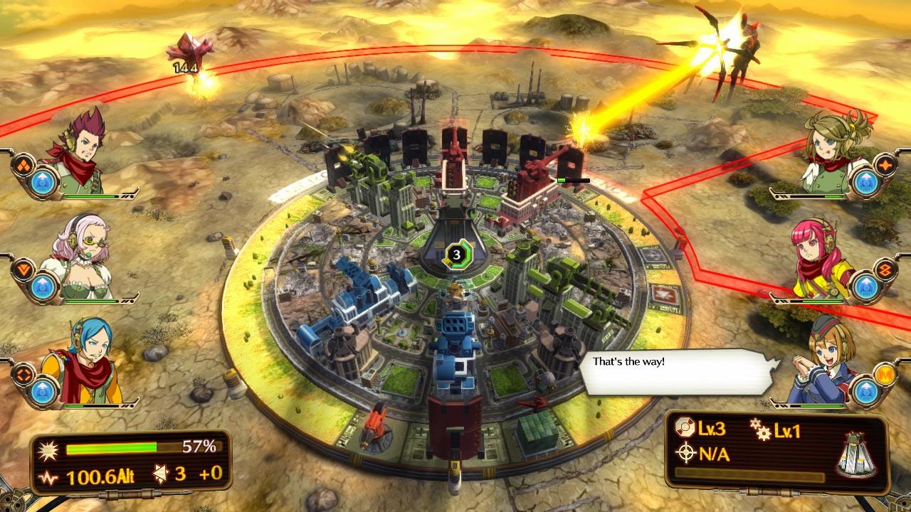 Aegis of Earth Protonovus Assault Screenshot 1