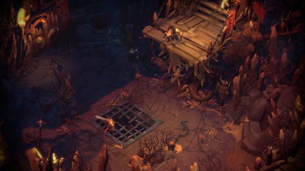 Screenshot of Battle Chasers: Nightwar
