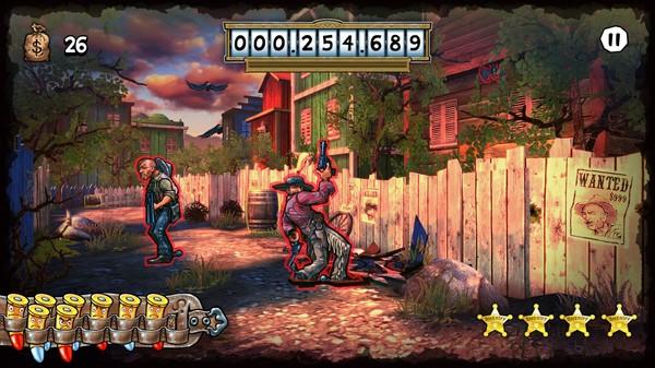 Screenshot of Mad Bullets