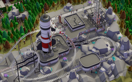 Parkitect Screenshot