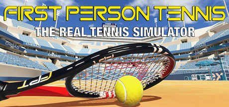 First Person Tennis - The Real Tennis Simulator Cover Image