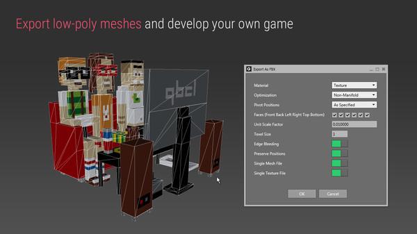 скриншот Qubicle Mesh Module 0