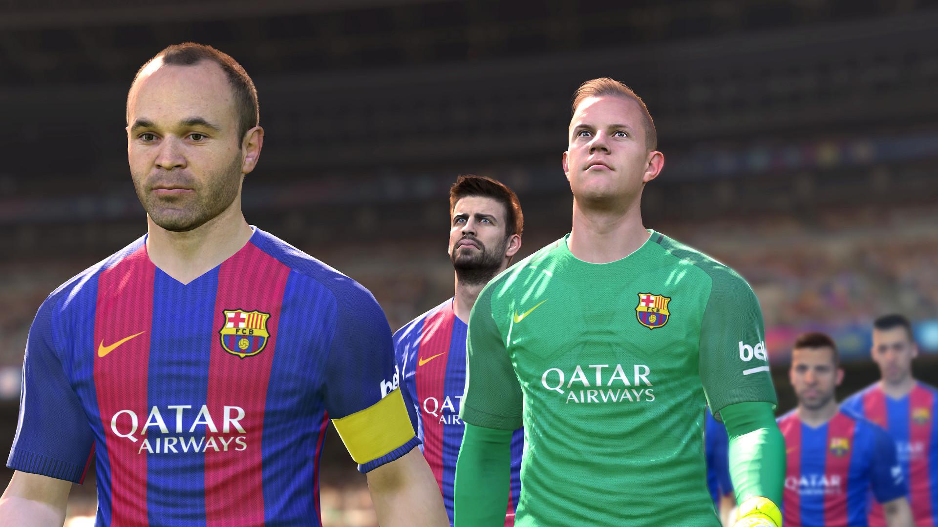 Pro Evolution Soccer 2017 Screenshot 1