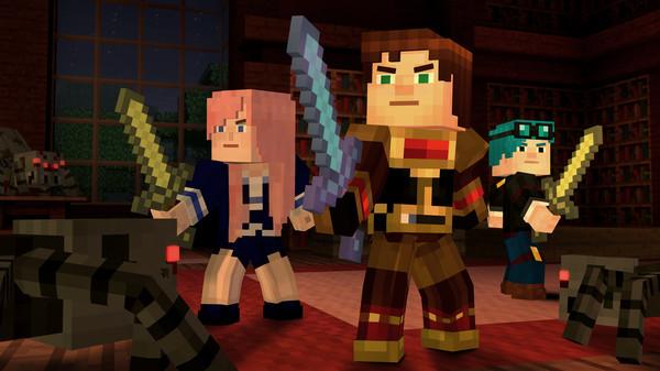 Скриншот №1 к Minecraft Story Mode - Adventure Pass