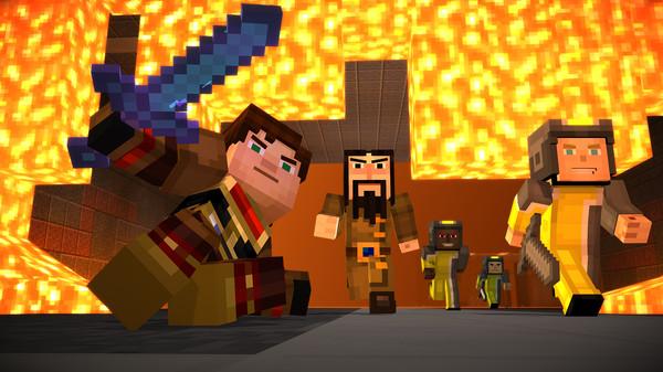 Скриншот №7 к Minecraft Story Mode - Adventure Pass