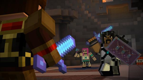 Скриншот №8 к Minecraft Story Mode - Adventure Pass