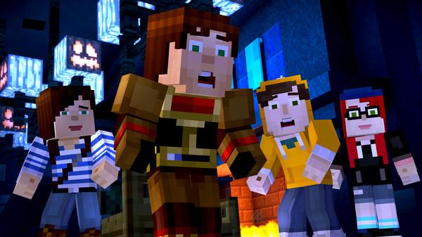 Скриншот №2 к Minecraft Story Mode - Adventure Pass