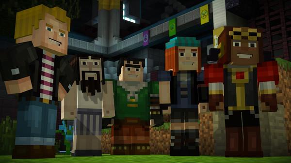 Скриншот №9 к Minecraft Story Mode - Adventure Pass