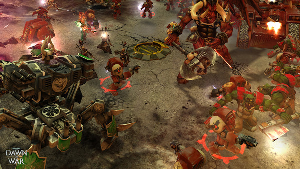 Скриншот №4 к Warhammer® 40000 Dawn of War® - Game of the Year Edition