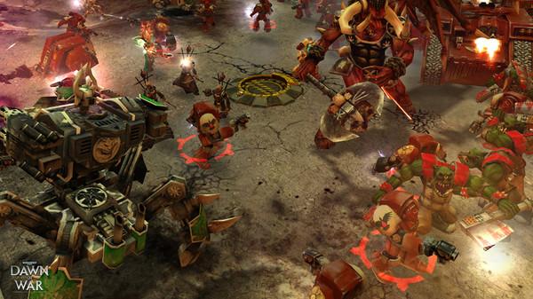 Скриншот №4 к Warhammer® 40000 Dawn of War® - Game of the Year Edition