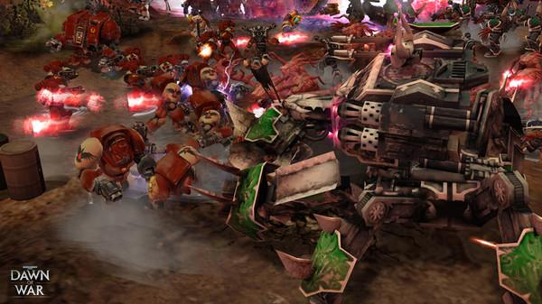 Скриншот №13 к Warhammer® 40000 Dawn of War® - Game of the Year Edition