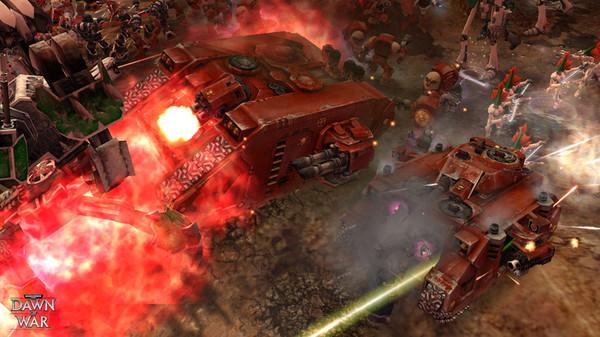 Скриншот №8 к Warhammer® 40000 Dawn of War® - Game of the Year Edition