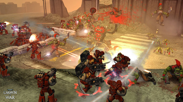 Скриншот №12 к Warhammer® 40000 Dawn of War® - Game of the Year Edition