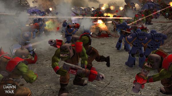 Скриншот №10 к Warhammer® 40000 Dawn of War® - Game of the Year Edition