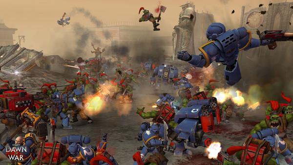 Скриншот №1 к Warhammer® 40000 Dawn of War® - Game of the Year Edition