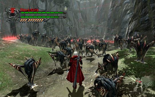 Devil May Cry 4 скриншот