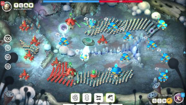 Скриншот №2 к Mushroom Wars 2