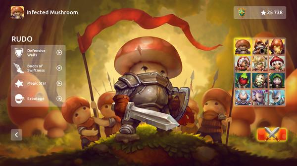 Скриншот №3 к Mushroom Wars 2