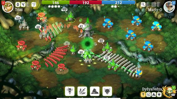 Скриншот №10 к Mushroom Wars 2