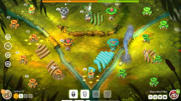 Скриншот №1 к Mushroom Wars 2