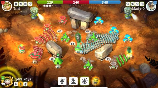 Скриншот №5 к Mushroom Wars 2