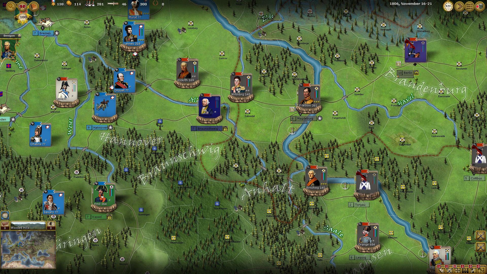 Wars of Napoleon Screenshot 2