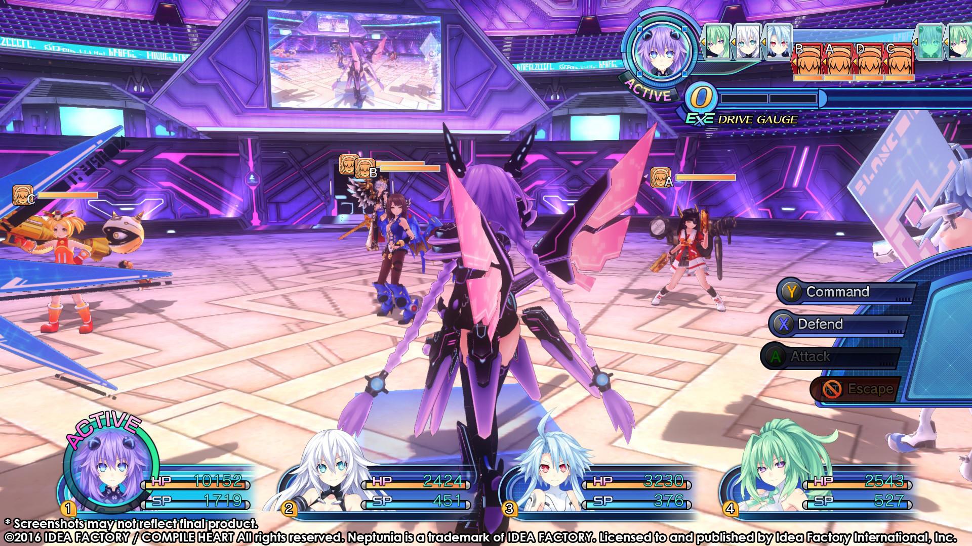Megadimension Neptunia VII Screenshot 3