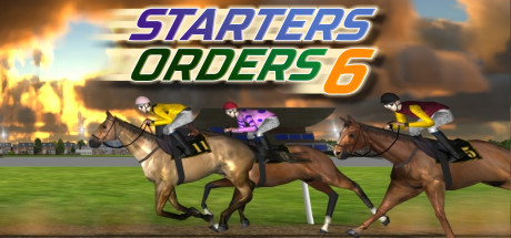 Starters Orders 6 Horse Racing Cover Image