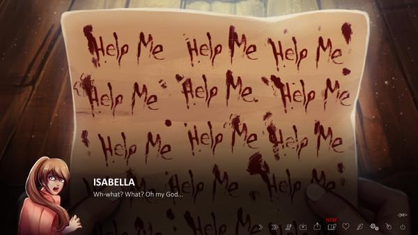 Скриншот №2 к The Letter - Horror Visual Novel